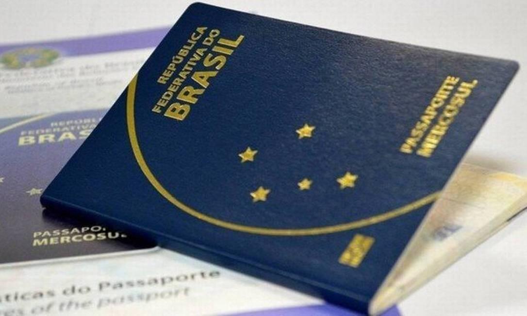 Passaporte brasileiro Foto: Reprodução