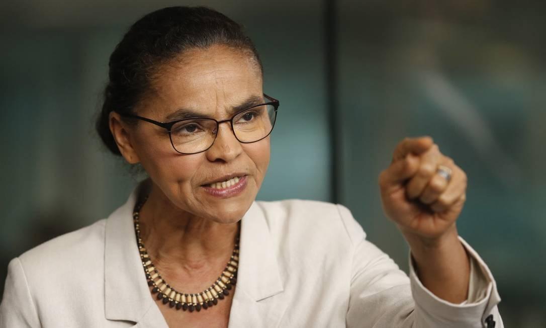 A ex-ministra do Meio Ambiente, Marina Silva Foto: Márcia Foletto / Agência O Globo