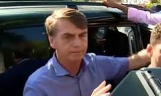 Bolsonaro diz que reforma da Previdência não deve ser aprovada este ano Foto: Reprodução