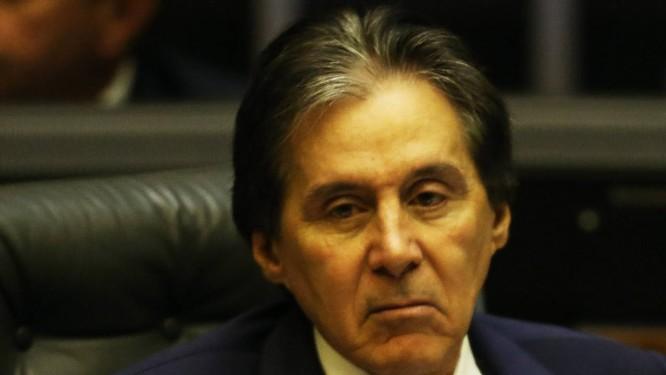 O presidente do Senado, Eunicio Oliveira (PMDB-CE) 04/07/2018 Foto: Ailton de Freitas / Agência O Globo