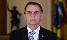 O presidente eleito, Jair Bolsonaro Foto: EVARISTO SA / AFP