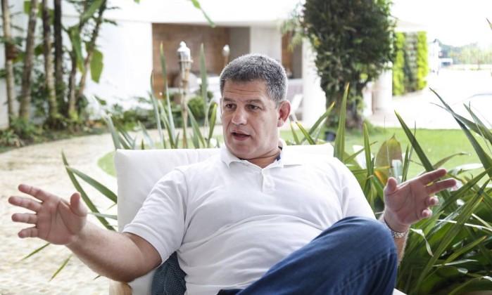 O advogado Gustavo Bebianno, um dos auxiliares mais próximos de Jair Bolsonaro Foto: Márcio Alves / Agência O Globo