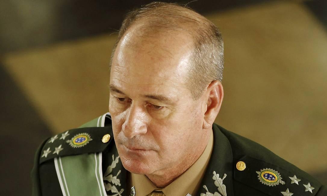 O general Fernando Azevedo Silva foi anunciado por Bolsonaro como ministro da Defesa Foto: Gabriel de Paiva / Agência O Globo