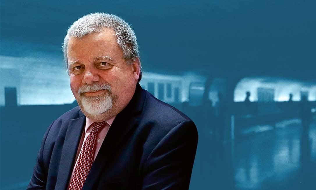 O cientista político Paulo Kramer Foto: Jorge William / Agência O Globo