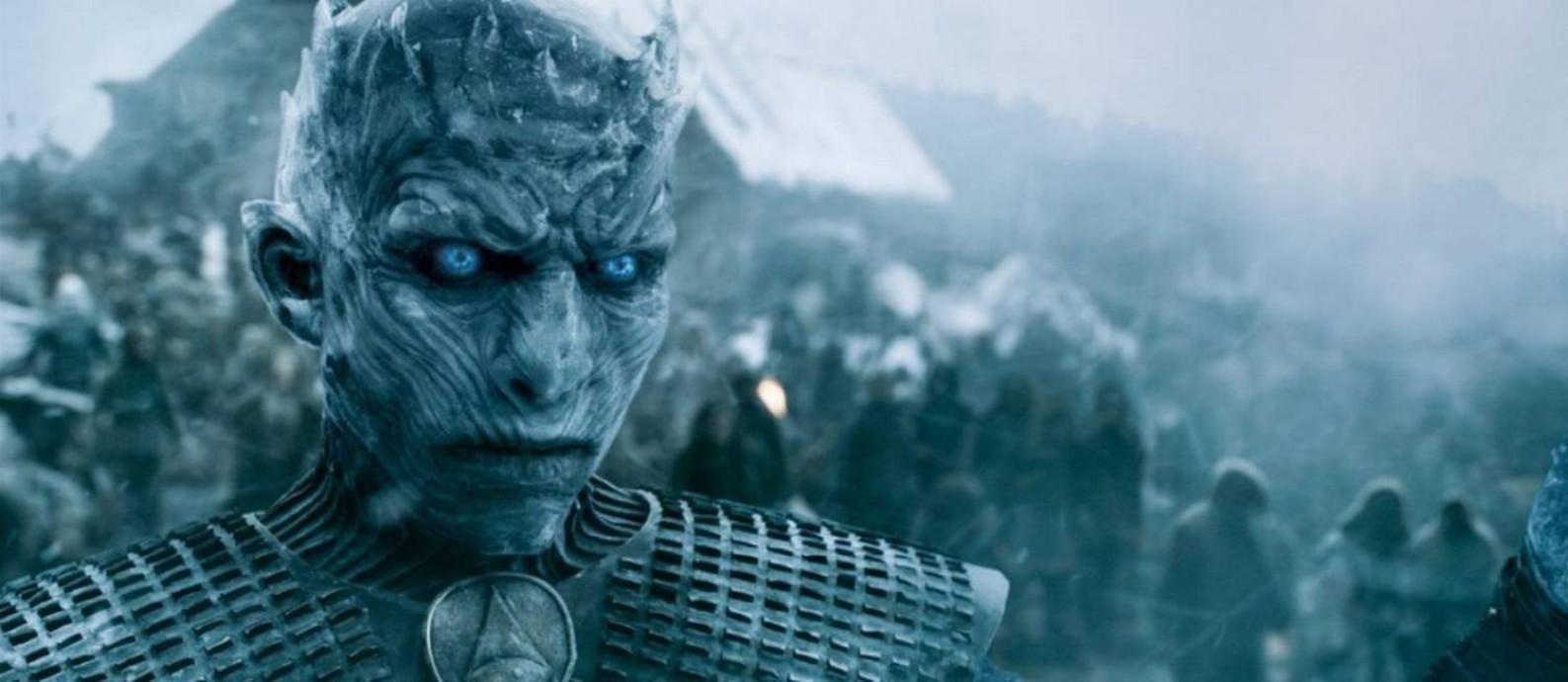 """Líder dos """"White Walkers"""", em 'Game of Thrones' Foto: Infoglobo / Reprodução/HBO"""