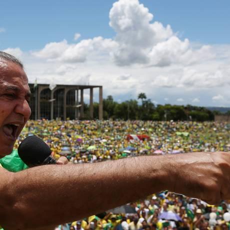 O pastor Silas Malafaia Foto: Michel Filho / Agência O Globo