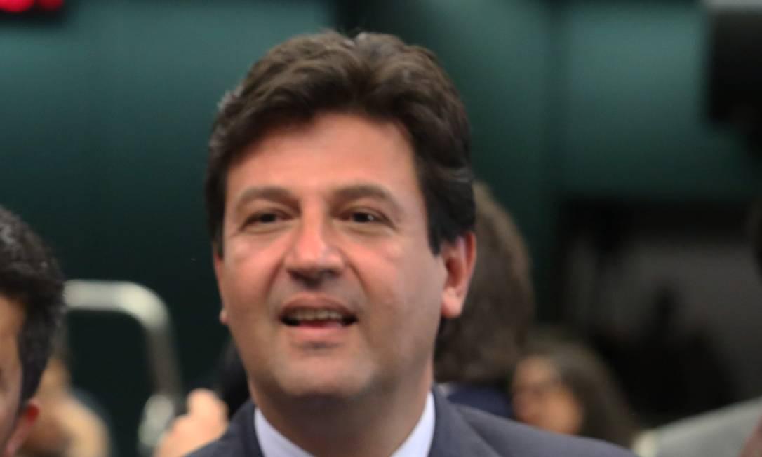 A atuação de Luiz Henrique Mandetta no Ministério da Saúde e a visibilidade que ganhou na época fizeram o Dem cogitar lançar o nome dele em candidatura própria em 2022 Foto: Jorge William / Agência O Globo