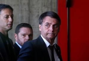 O presidente eleito Jair Bolsonaro Foto: Adriano Machado / Reuters