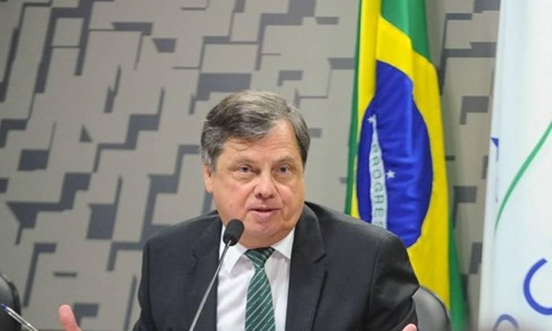 O embaixador Luís Fernando Serra é cotado para assumir Itamaraty Foto: Marcos Oliveira/Agência Senado