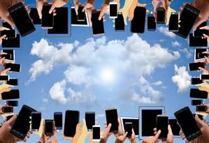 Comodidade. O armazenamento nuvem permite também o monitoramento das informações de qualquer lugar Foto: Pixabay