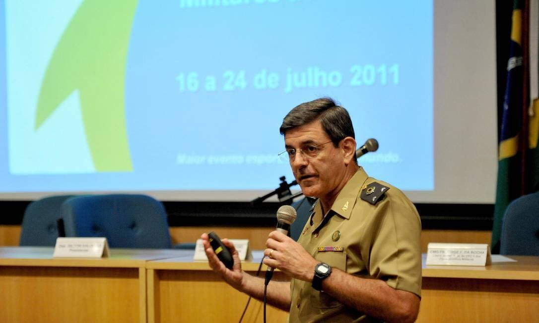 O general Jamil Megid Júnior Foto: Paulo Mumia/Divulgação