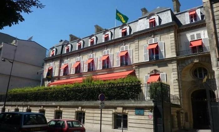 Embaixada do Brasil na França Foto: Reprodução