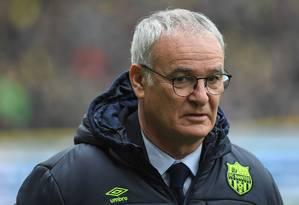 Ex-Nantes, Ranieri vai dirigir o Fulham, lanterna do Campeonato Inglês Foto: LOIC VENANCE / AFP