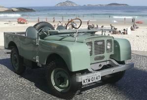 Um Land Rover 1948 do primeiro lote importado pelo Brasil Foto: Roberto Hirth