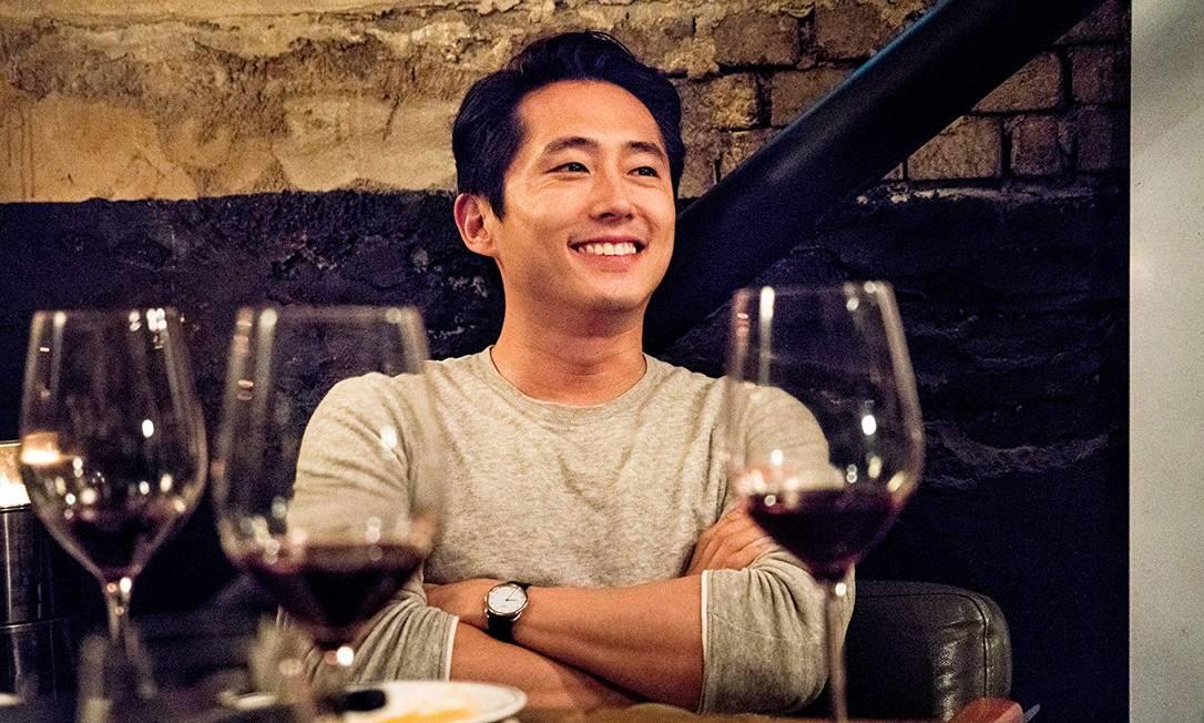 Steven Yeun no filme 'Em chamas' Foto: Reprodução