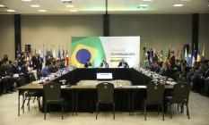 Reunião de governadores eleitos, realizada em Brasília Foto: Marcelo Camargo/Agência Brasil
