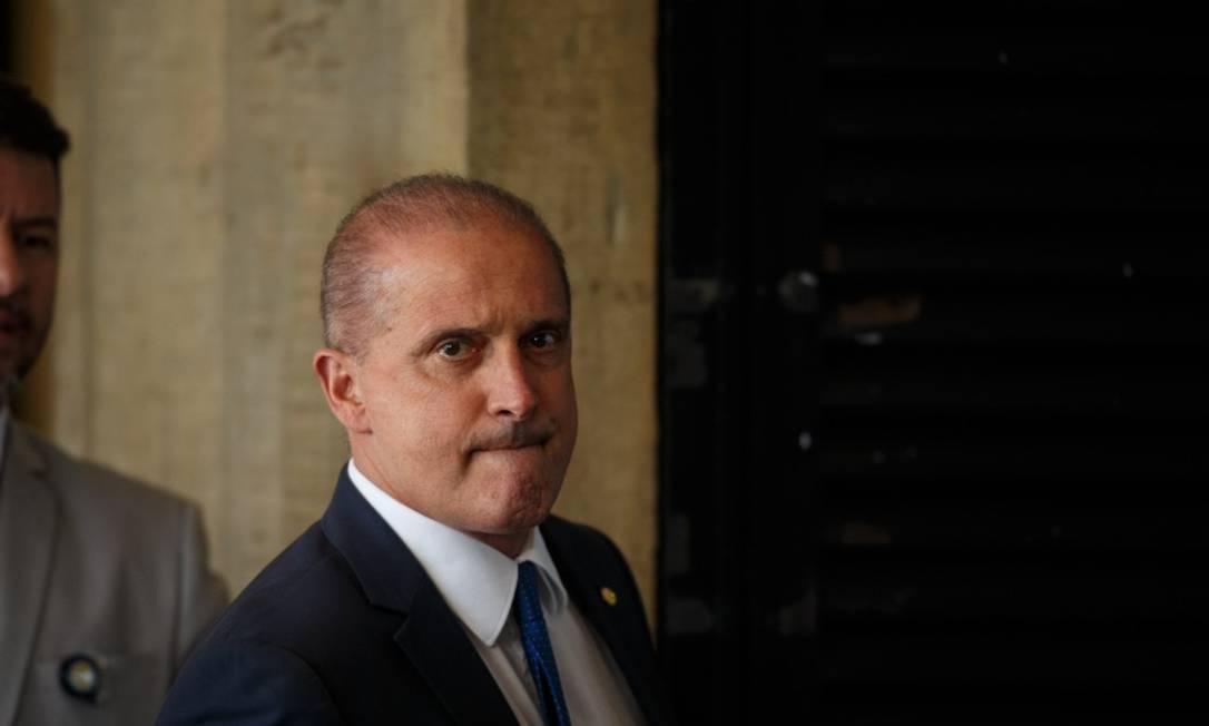 Onyx Lorenzoni, o futuro ministro da Casa Civil Foto: Daniel Marenco / Agência O Globo