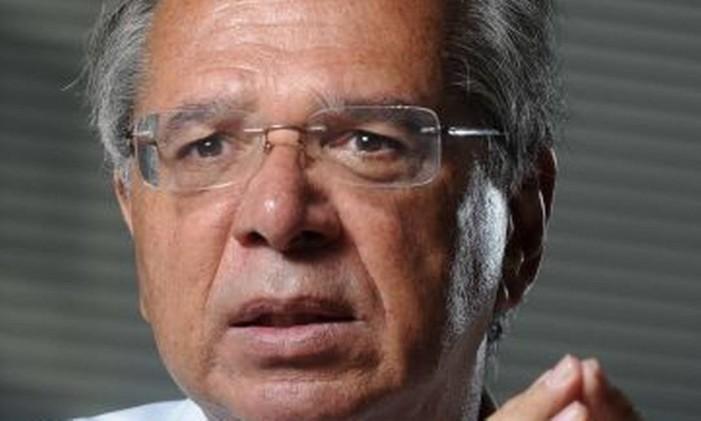Paulo Guedes é o 'posto Ipiranga' de Bolsonaro para assuntos econômicos Foto: Leo Pinheiro / Agência O Globo