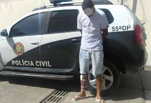 Ex-namorado de jovem esfaqueada na Baixada é preso Foto: Divulgação/Polícia Civil