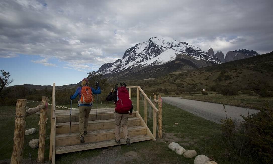 Parque Nacional Torres del Paine, na Patagônia chilena. Foto: Márcia Foletto