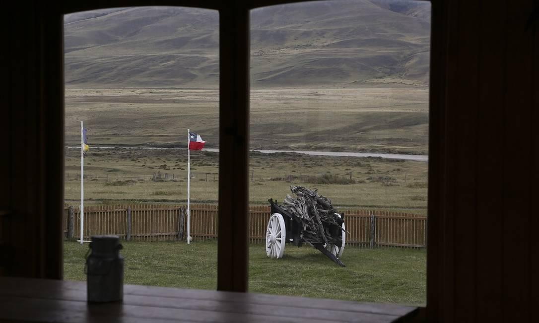 BV Chile 09/11/2018 Parque Nacional Torres del Paine, na Patagônia chilena. Na foto, a calvagada na Estância Dos Elianas Foto: Márcia Foletto / Márcia Foletto