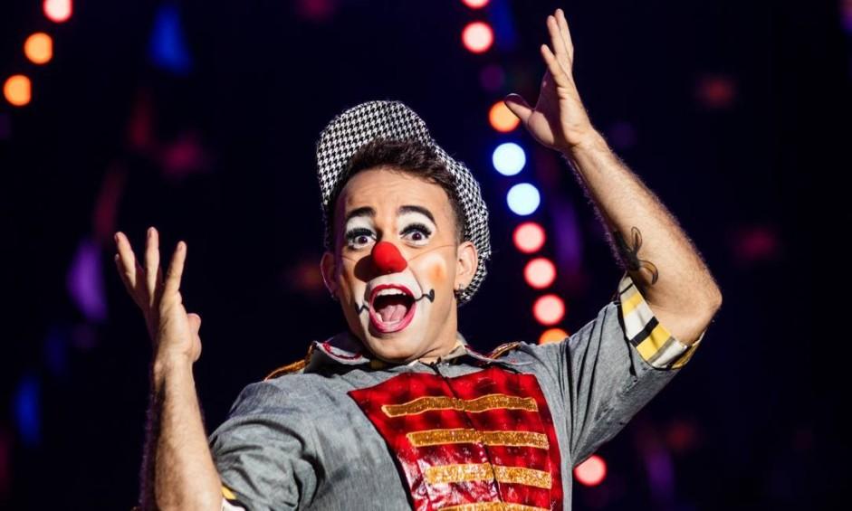 Luís Yuner, palhaço do Reder Circus: nascido e criado sob a lona Foto: Agência O Globo/Bárbara Lopes