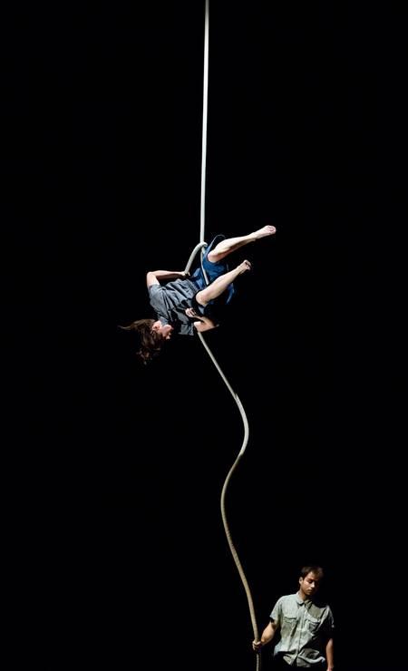 Festival Internacional de Circo: 'Finding No Man's Land', da Compagnie Two Foto: Milan Szypura / Divulgação/Milan Szypura
