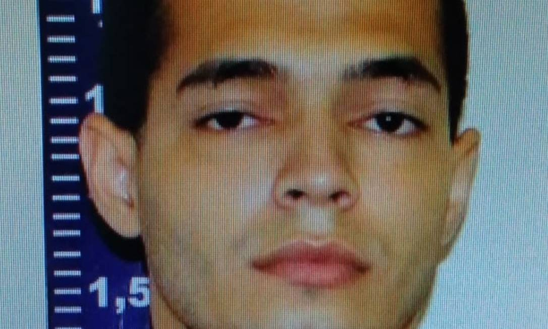 Helisson Guimarães, de 25 anos, foi preso por feminicídio Foto: Divulgação/DHBF