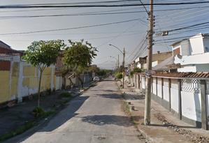 Adolescente foi encontrada morta em rua de Guadalupe Foto: Reprodução/GoogleMaps