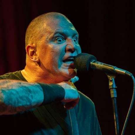 O baixista e cantor americano CJ Ramone, ex-integrante dos Ramones Foto: Divulgação/Rogerio Grassia