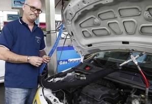 Para Roberto Palma, variação de preços depende da gasolina Foto: Letycia Cardoso - Agência O Globo