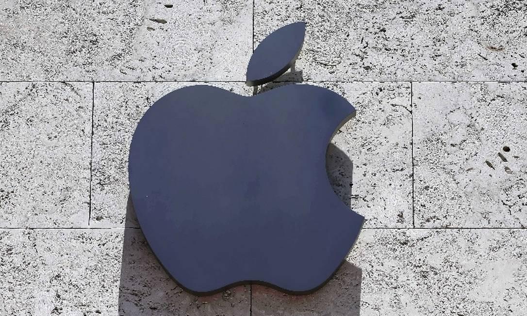 Fabricante de iPhone separou US$1 bilhão de seu orçamento do próximo ano para gastar com produções originais Foto: / Logo da Apple