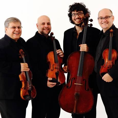 O Quarteto Atla Foto: Divulgação