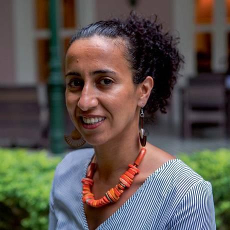 Ex-refugiada, a iraquiana Ghadah Al-Nasseri conseguiu asilo em Londres e trabalha em defesa de mulheres ameaçadas pessoal e politicamente Foto: Claudia Ferreira