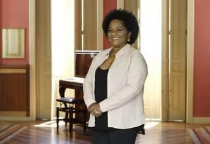 Nilcemar Nogueira fala sobre a experiência à frente da Secretaria municipal de Cultura Foto: Michel Filho / Divulgação/Prefeitura do Rio