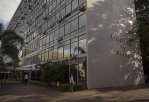 Prédio do Ministério da Saúde, na Esplanada dos Ministérios Foto: Daniel Marenco / Agência O Globo