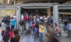 Provas do Enem na Universidade Uninove, em São Paulo Foto: Edilson Dantas/Agência O Globo/11-11-2018