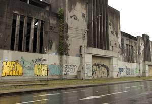 Pavilhão na Feliciano Sodré terá fachada preservada. Foto: Thiago Freitas / Agência O Globo