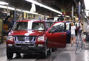 Fábrica da Ford, nos Estados Unidos Foto: Brian Bohannon / Brian Bohannon