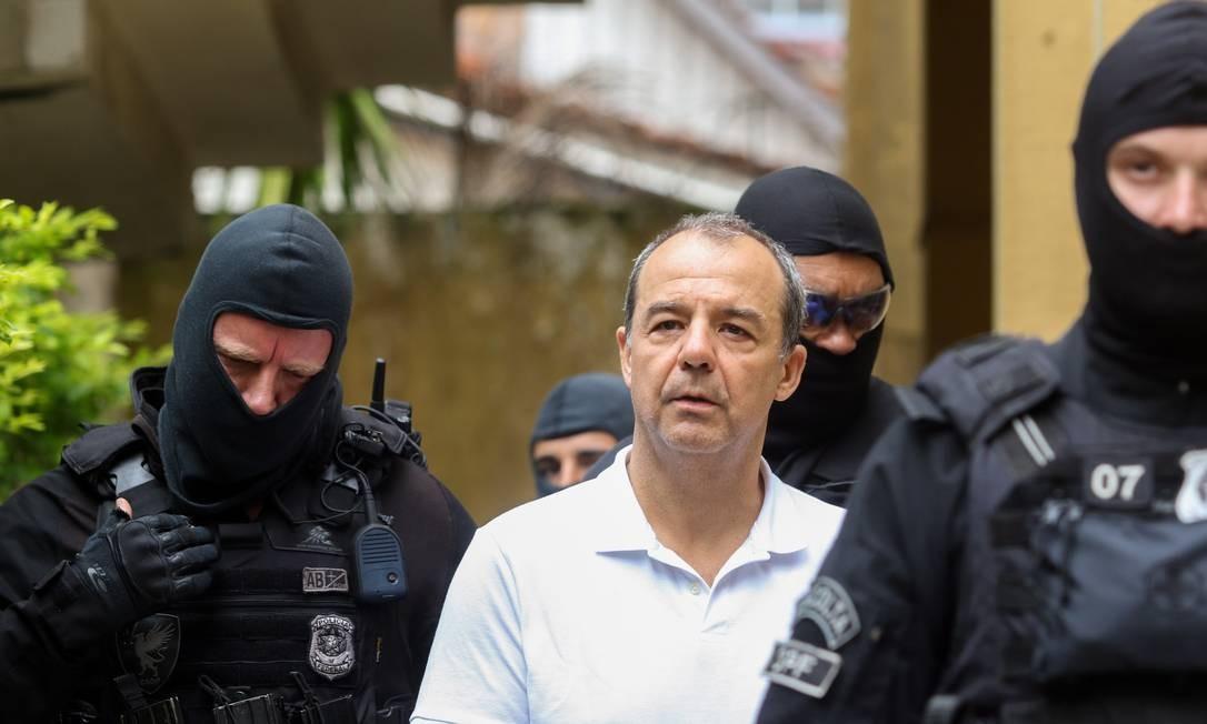 Sergio Cabral será julgado no início de dezembro Foto: Theo Marques/Framephoto / Agência O Globo / Agência O Globo 19/01/18