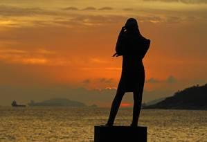Monumento de Chopin, na Praia Vermelha, Rio de Janeiro Foto: Thiago Lontra / Agência O Globo