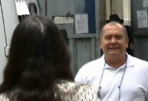 Delator e operador do esquema Cabral, Calor miranda deixa a prisão em Benfica Foto: Reprodução