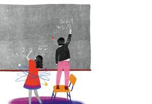 Os meninos têm uma vantagem comparativa em matemática e ciências? Foto: Agência O Globo