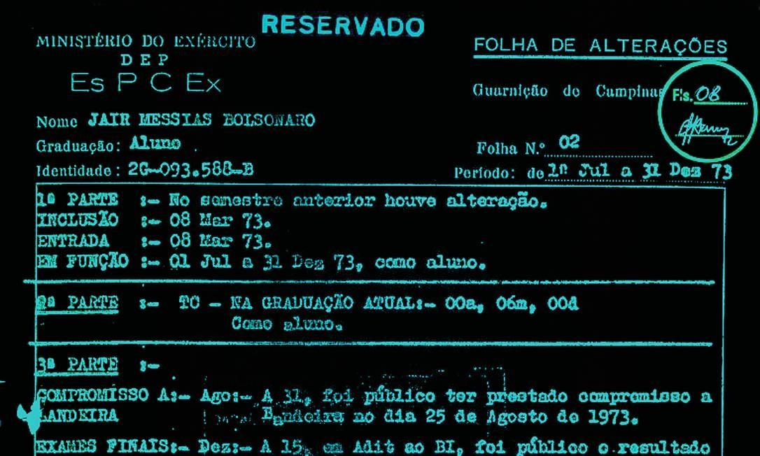 Boletim do presidente eleito, Jair Bolsonaro Foto: Vinicius Jorge Sassine / Agência O Globo