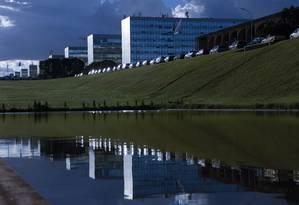 A Esplanada dos Ministérios, em Brasília Foto: Michel Filho / Agência O Globo