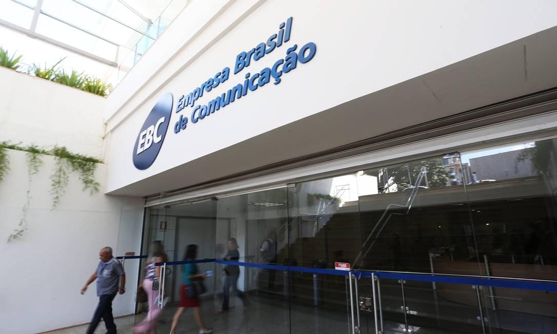 A Empresa Brasil de Comunicação fundiu canais TV Brasil e NBR Foto: Ailton de Freitas / Agência O Globo
