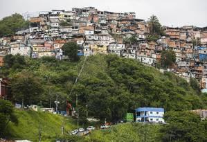 Comunidade do Fallet, na Região Central do Rio (Arquivo) Foto: Guilherme Leporace / Agência O Globo
