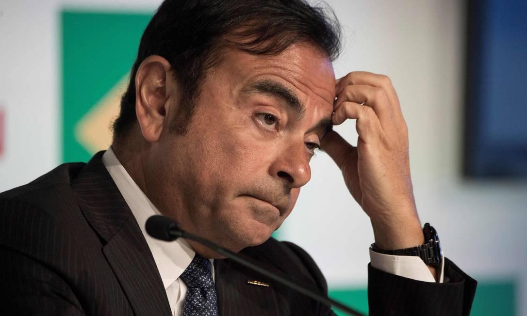 Presidente do Conselho de Administração da Nissan, Carlos Ghosn será demitido após denúncias de sonegação fiscal Foto: VANDERLEI ALMEIDA / AFP