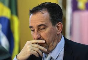 O ministro da Saúde, Gilberto Occhi Foto: Jorge William / Agência O Globo