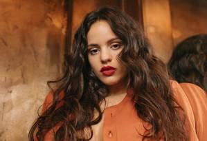 A cantora espanhola Rosalía, que acaba de lançar seu segundo álbum, 'El mal querer' Foto: Divulgação